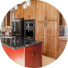 Shaker Cabinets in Modern and Warm Kitchen Timeless Kitchen Designs for Your Des Moines Remodel | Compelling Homes