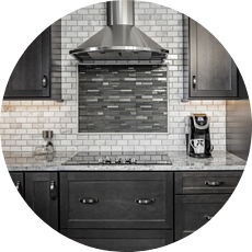 Subway Tile Modern Kitchen Grey Palette Custom Tile Design Timeless Kitchen Designs for Your Des Moines Remodel | Compelling Homes