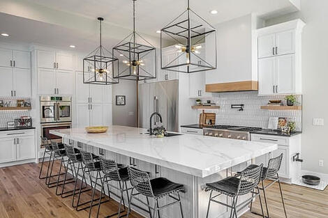 Home Remodel White Kitchen Open Concept by Compelling Homes Des Moines Tour of Remodeled Homes
