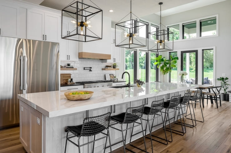Project Spotlight Modern Farmhouse Design Featured on Des Moines Tour of Remodeled Homes | Compelling Homes